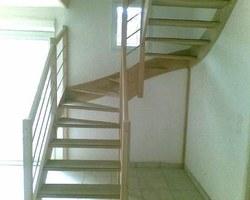 Menuiserie Bernard Jean-Philippe - Ville-sous-Anjou - Création d'escaliers